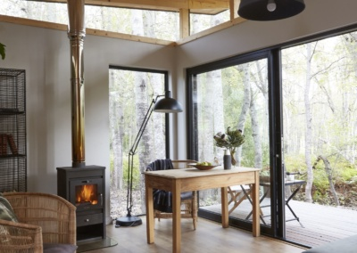 marriott, sondagskloof, eco, wood cabin, forest, deck, scandinavian
